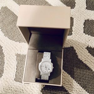 Burberry Accessories - Burberry london BU1770 Ceramic Chronograph watch